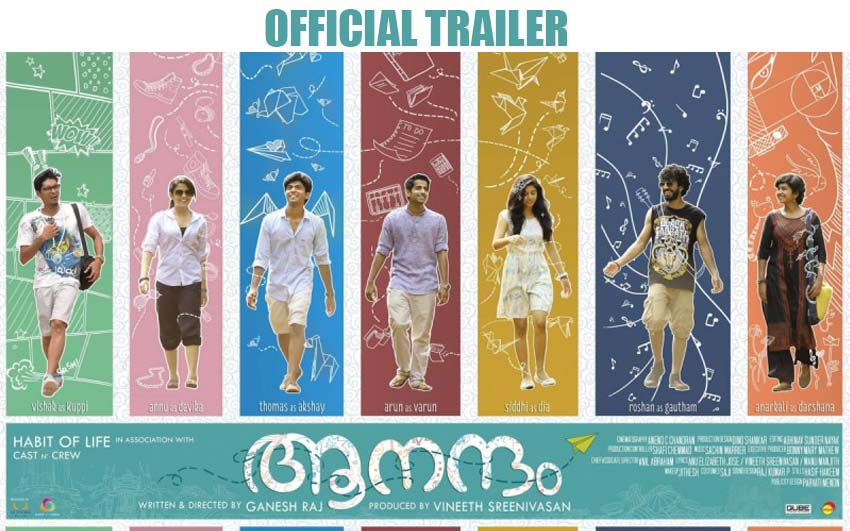 aanandam official trailer