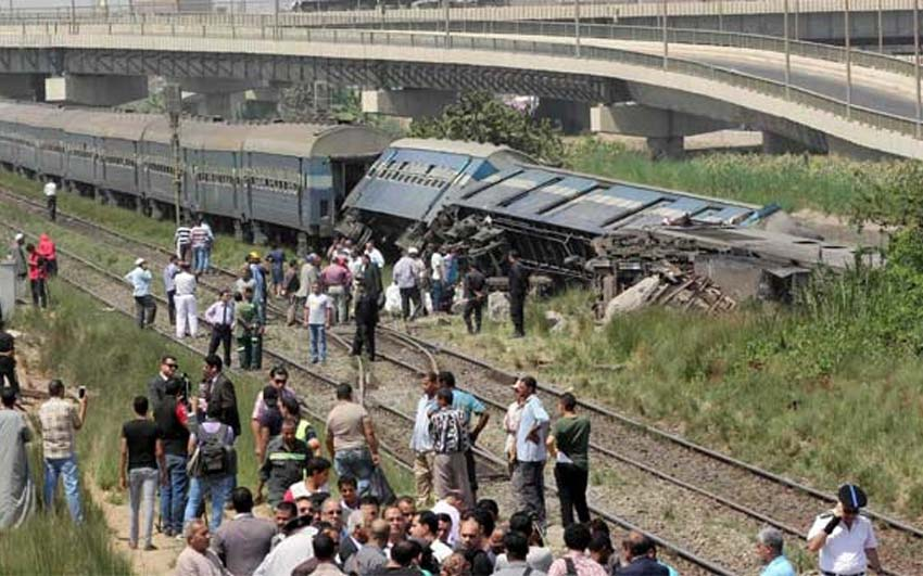 Cairo train derailment: 3 dead, 26 injured in Egypt