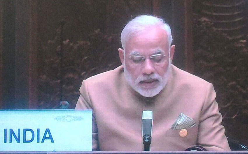 G20 Summit in China Narendra Modi begins Day 2