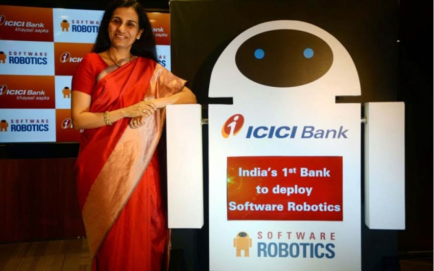 ICICI Bank Software Robotics to drive Banking Operations
