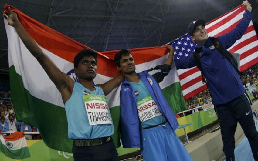 Mariyappan Thangavelu wins Gold