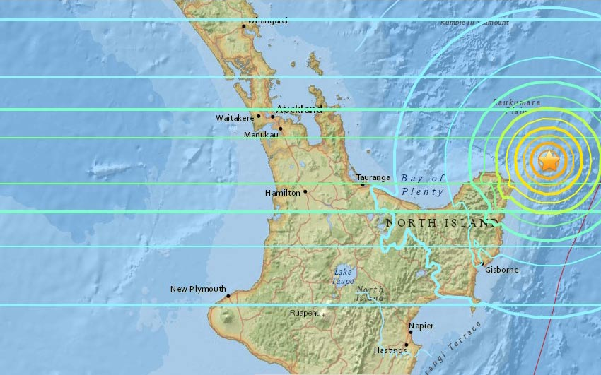 New Zealand Earthquake Strong 7.1 Magnitude quake strikes