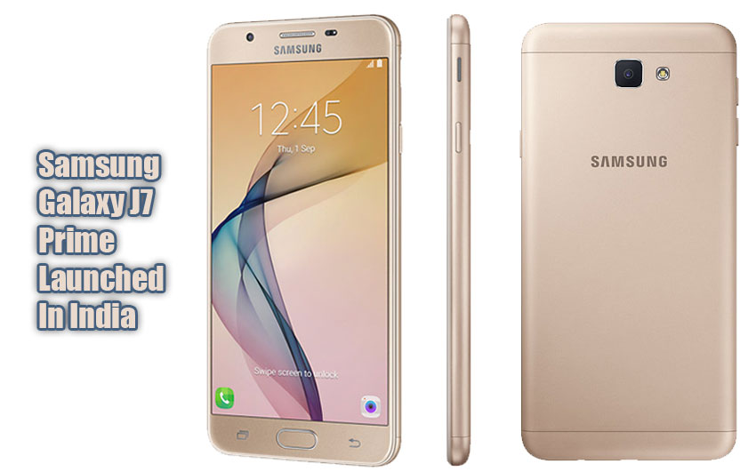 samsung galaxy j7 prime launched in india specification