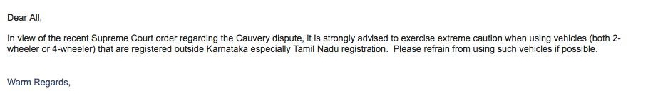 Cauvery Issue Tamil Nadu registered vehicles burnt in Bengaluru