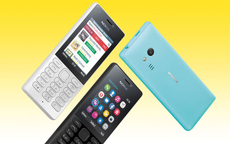 Microsoft launches the Nokia 216 Dual SIM phone for Rs 2500