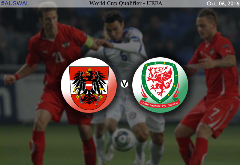 Austria vs Wales FIFA World Cup 2018 Qualifier
