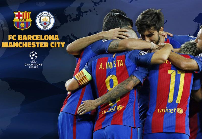 Barcelona vs Manchester City Live Streaming