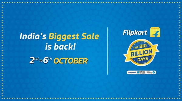 Flipkart Big Billion Day Sale everyday Deals and Offer