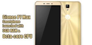 Gionee P7 Max Smartphone