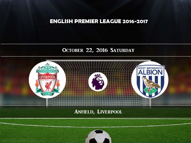 Liverpool vs West Bromwich Albion Live Streaming Match ...