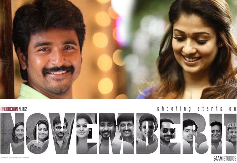 Siva Karthikeyan - Nayanthara New Movie Confirmed by 24AM Studio