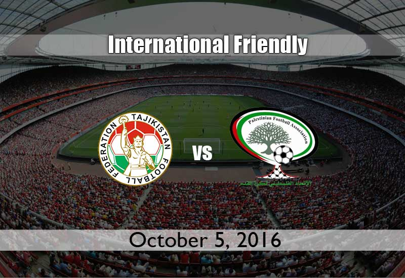 Tajikistan vs Palestine International Friendly