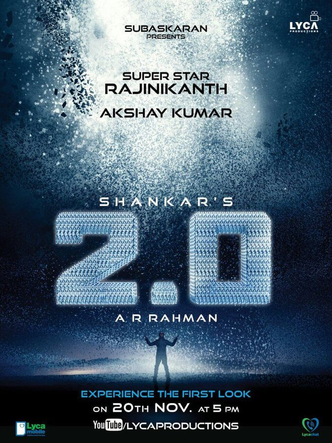 2.0 aka Enthiran 2 First Look Teaser