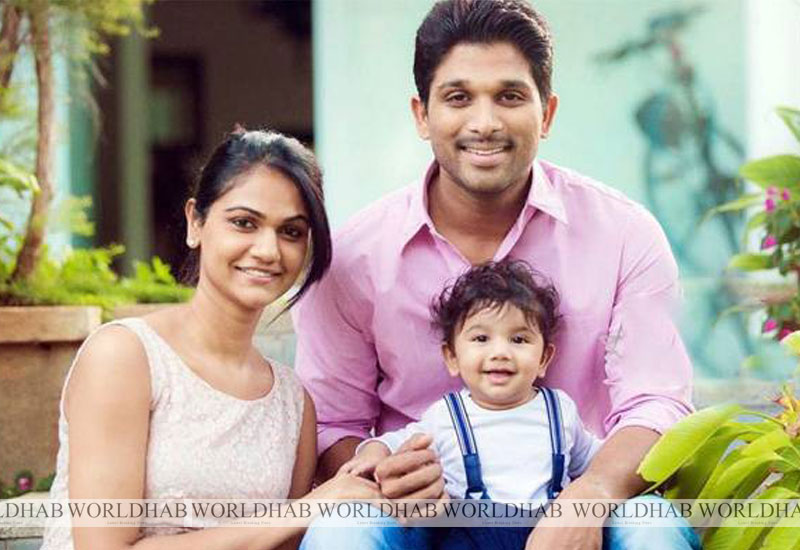 Allu Arjun, Sneha Blessed with Baby Girl Allu Arjun's Daughter's Birthday Date
