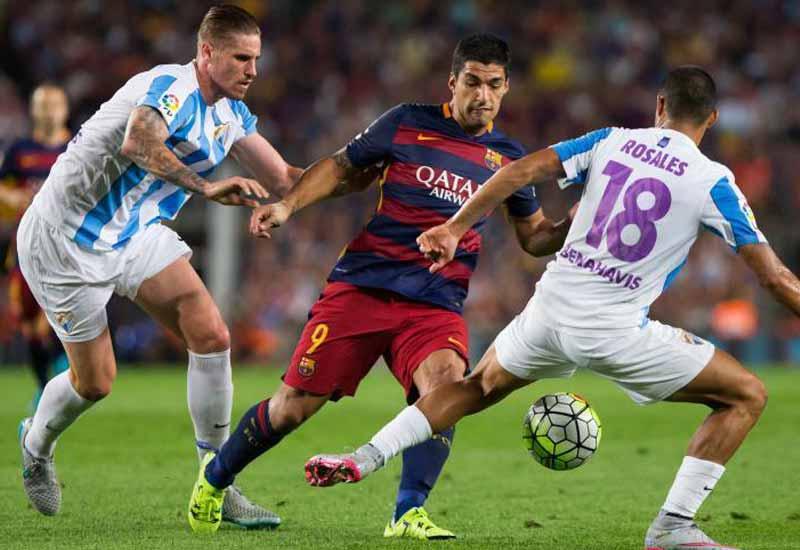Barcelona vs Málaga Live Streaming Score & Starting 11 Line Up La Liga 2016-17