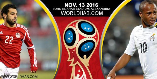 Egypt vs Ghana Live Match