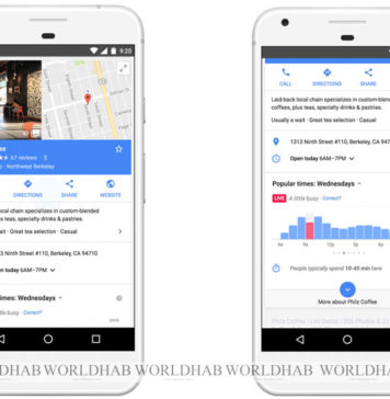 Google Maps Popular Times Live View Feature is available Now