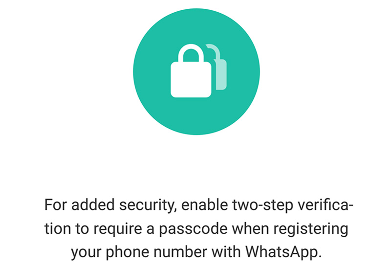 New WhatsApp beta has Two Step Verification features