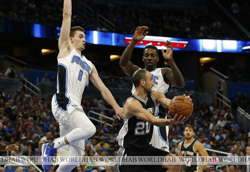 Ibaka's 18 points help Magic upend sloppy Spurs 95-83
