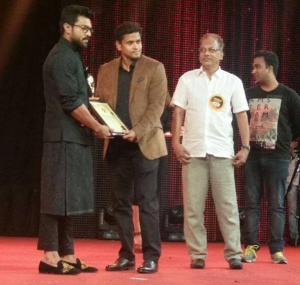 Youth Icon Award Ram Charan Pics