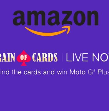 Amazon Train of Cards Contest Clues