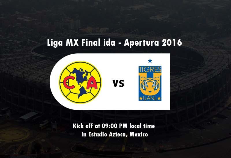América vs Tigres UANL Live Streaming