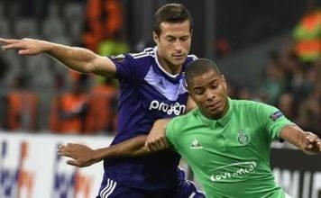 Anderlecht vs St Etienne Live Streaming Europa League Lineup & Score