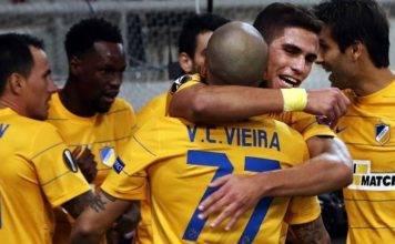 Apoel Nicosia vs Olympiakos Live Streaming Europa League Lineup Score