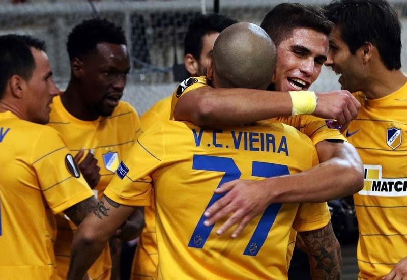 Apoel Nicosia vs Olympiakos Live Streaming Europa League Lineup Score