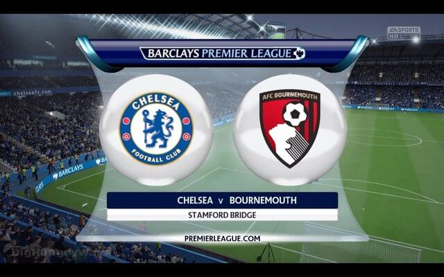 Chelsea vs Bournemouth live streaming and Live Score