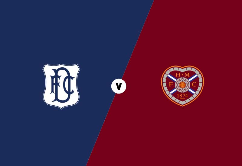 Dundee vs Heart of Midlothian Line ups, Final score