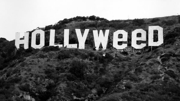 Hollywood becomes Hollyweed in New Year's Eve prank