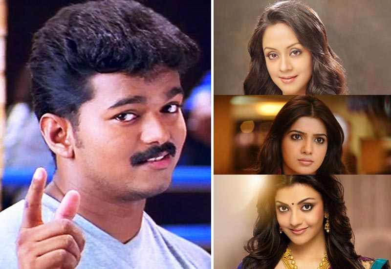 Ilayathalapathi Vijay will act with Jyothika, Samantha, Kajal on Atlee's Vijay 61