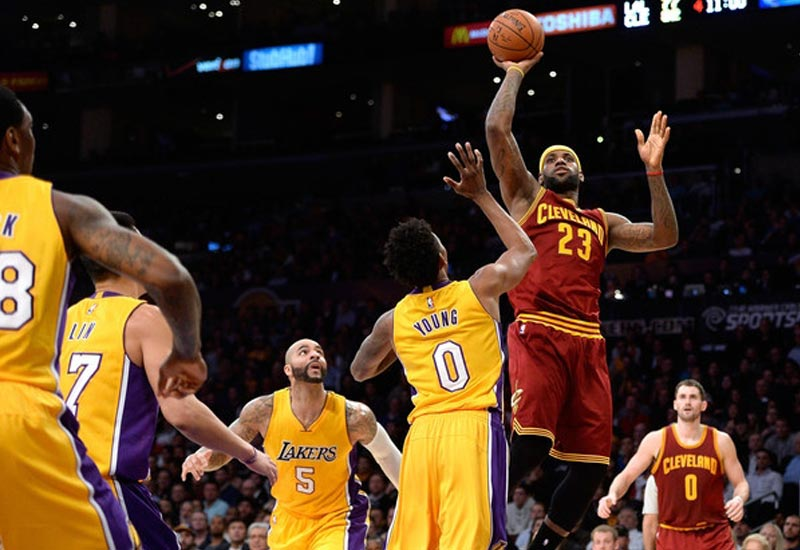 Los Angeles Lakers vs Cleveland Cavaliers Live Streaming NBA 2016-17 Info.