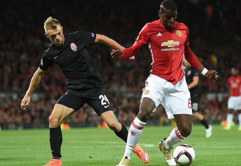 Manchester United vs Zorya Luhansk Live Streaming Europa League Lineup & Score