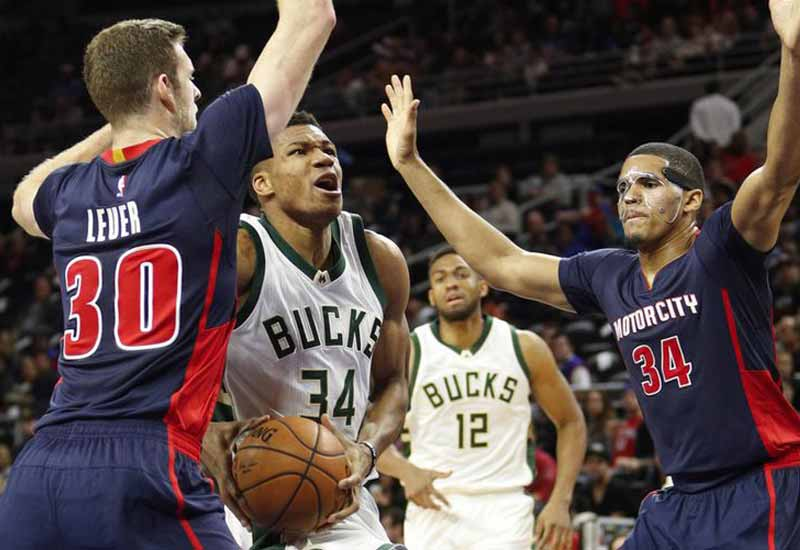Milwaukee Bucks vs Detroit Pistons Live