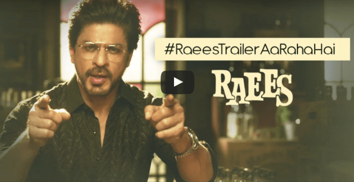 Raees Trailer Launched, Release Date changed! : Shah Rukh Khan