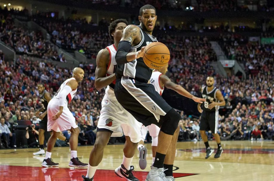 San Antonio Spurs vs Portland Trail Blazers
