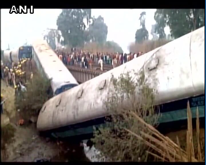 Sealdah-Ajmer Express Train Derailed