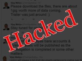 Vijay Mallya's Twitter & e-mail accounts hacked