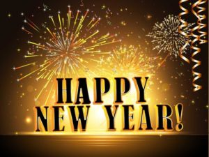 happy new year crackers image