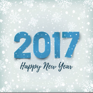 happy new year snowfall image