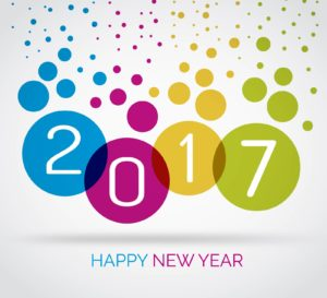 new year greetings 2017 image