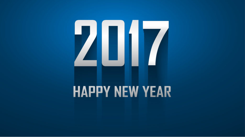 happy new year 2017 hd image wallpaper