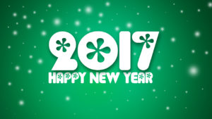 happy new year stylish wallpaper