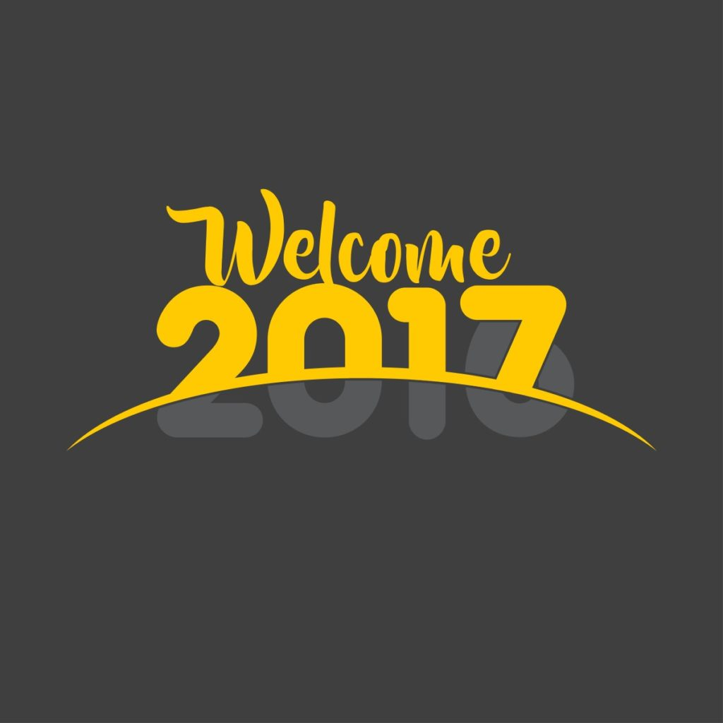 welcome newyear 2017