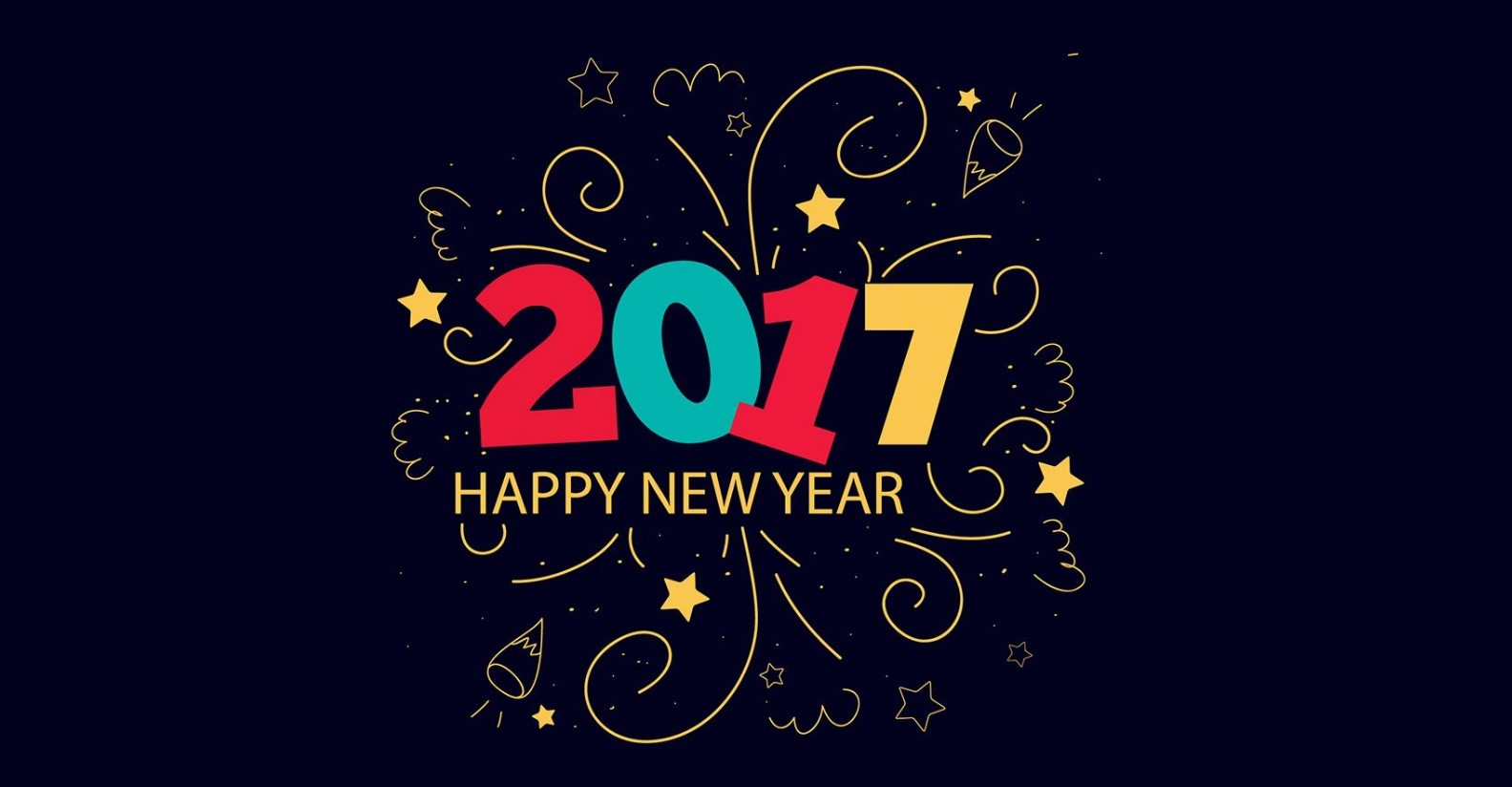 New Year 2017 Hd Wallpaper: Happy New Year Quotes And Images, Greeting Messages