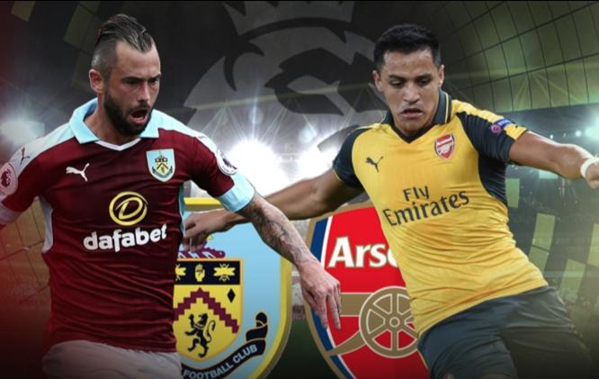 Arsenal vs Burnley FC Live Streaming