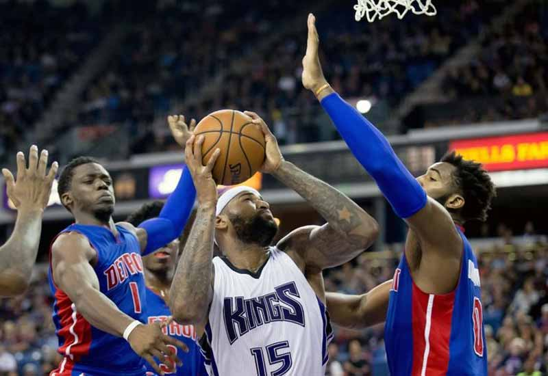 Detroit Pistons vs Sacramento Kings