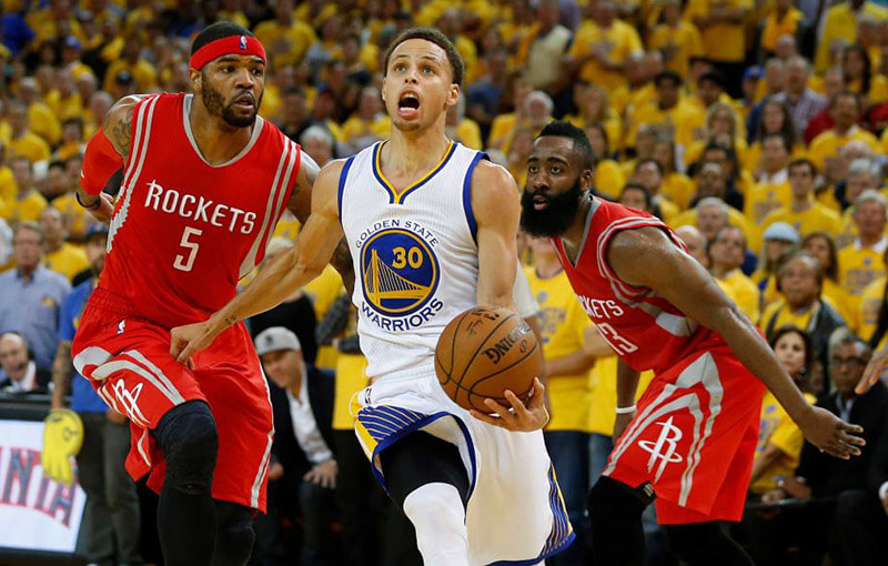 Durant scores 32, Warriors crushed Rockets 125-108